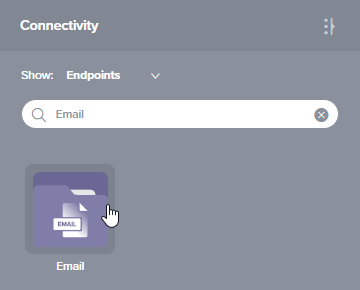 Email connection existing