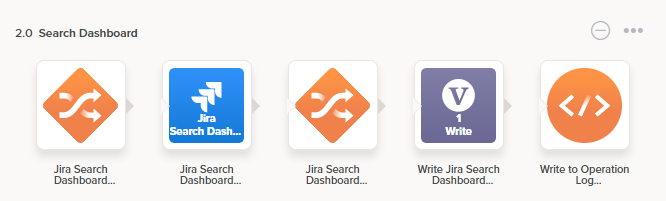 Jira Search Dashboard operation