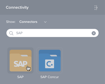 Connectivity tab